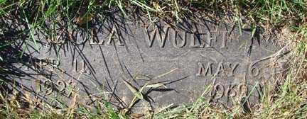 WULFF, LOLA - Minnehaha County, South Dakota | LOLA WULFF - South Dakota Gravestone Photos