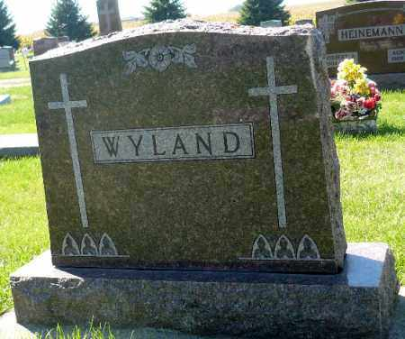 WYLAND, FAMILY MARKER - Minnehaha County, South Dakota   FAMILY MARKER WYLAND - South Dakota Gravestone Photos