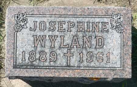 WEILER WYLAND, JOSEPHINE - Minnehaha County, South Dakota | JOSEPHINE WEILER WYLAND - South Dakota Gravestone Photos