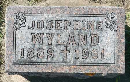 WYLAND, JOSEPHINE - Minnehaha County, South Dakota | JOSEPHINE WYLAND - South Dakota Gravestone Photos