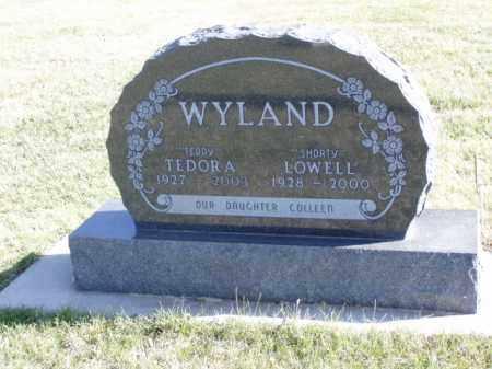 "WYLAND, TEDORA ""TEDDY"" - Minnehaha County, South Dakota | TEDORA ""TEDDY"" WYLAND - South Dakota Gravestone Photos"