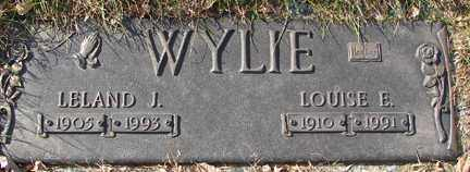 WYLIE, LOUISE EVELYN - Minnehaha County, South Dakota | LOUISE EVELYN WYLIE - South Dakota Gravestone Photos