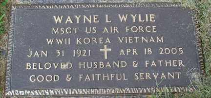 WYLIE, WAYNE L. (WWII - KOREA - VIETNAM) - Minnehaha County, South Dakota | WAYNE L. (WWII - KOREA - VIETNAM) WYLIE - South Dakota Gravestone Photos