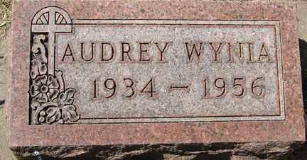 WYNIA, AUDREY - Minnehaha County, South Dakota | AUDREY WYNIA - South Dakota Gravestone Photos