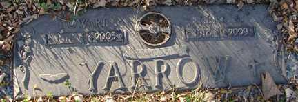 YARROW, HAROLD - Minnehaha County, South Dakota | HAROLD YARROW - South Dakota Gravestone Photos