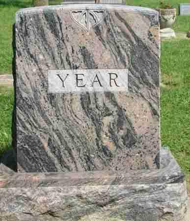 YEAR, FAMILY MARKER - Minnehaha County, South Dakota   FAMILY MARKER YEAR - South Dakota Gravestone Photos