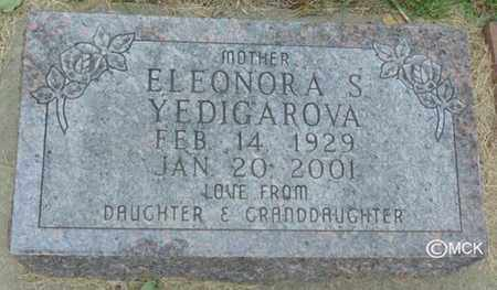 YEDIGAROVA, ELEONORA S. - Minnehaha County, South Dakota | ELEONORA S. YEDIGAROVA - South Dakota Gravestone Photos