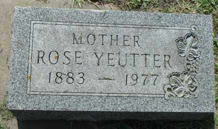 YEUTTER, ROSE - Minnehaha County, South Dakota | ROSE YEUTTER - South Dakota Gravestone Photos