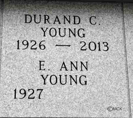 YOUNG, E. ANN - Minnehaha County, South Dakota | E. ANN YOUNG - South Dakota Gravestone Photos