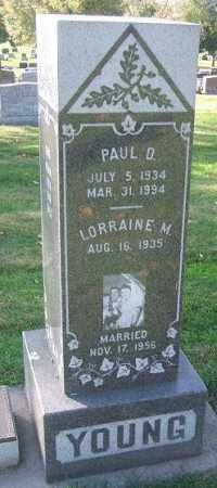YOUNG, LORRAINE M. - Minnehaha County, South Dakota | LORRAINE M. YOUNG - South Dakota Gravestone Photos