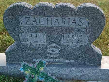 ZACHARIAS, NELLIE - Minnehaha County, South Dakota | NELLIE ZACHARIAS - South Dakota Gravestone Photos