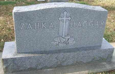 HAGGAR, FAMILY STONE - Minnehaha County, South Dakota   FAMILY STONE HAGGAR - South Dakota Gravestone Photos