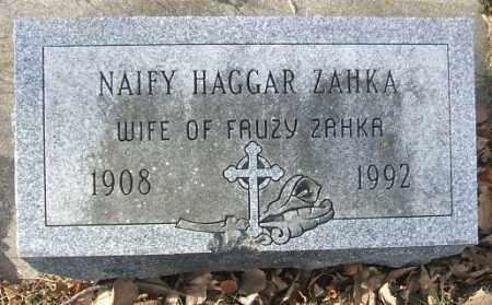ZAHKA, NAIFY - Minnehaha County, South Dakota | NAIFY ZAHKA - South Dakota Gravestone Photos