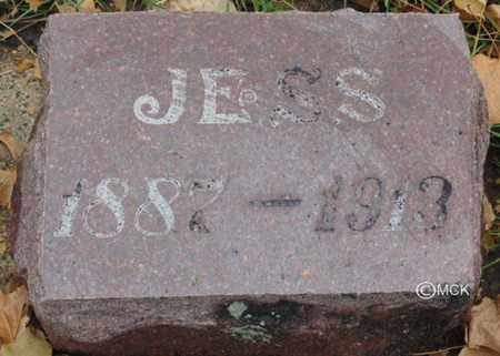 ZELLER, JESS - Minnehaha County, South Dakota | JESS ZELLER - South Dakota Gravestone Photos