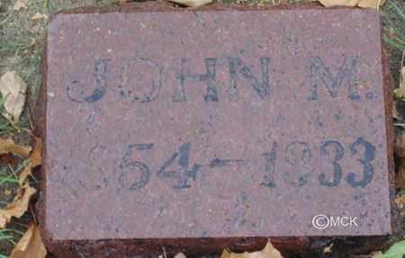 ZELLER, JOHN M. - Minnehaha County, South Dakota   JOHN M. ZELLER - South Dakota Gravestone Photos