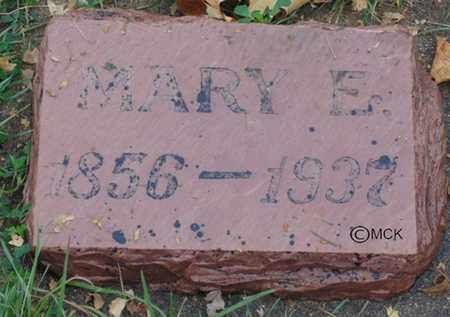 ZELLER, MARY E. - Minnehaha County, South Dakota | MARY E. ZELLER - South Dakota Gravestone Photos