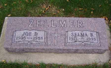 ZELLMER, JOE D. - Minnehaha County, South Dakota | JOE D. ZELLMER - South Dakota Gravestone Photos