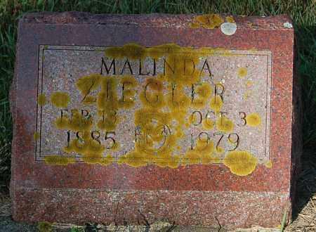 ZIEGLER, MALINDA - Minnehaha County, South Dakota | MALINDA ZIEGLER - South Dakota Gravestone Photos