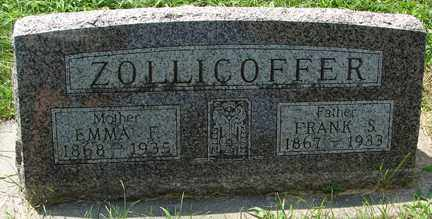 ZOLLICOFFER, EMMA F. - Minnehaha County, South Dakota | EMMA F. ZOLLICOFFER - South Dakota Gravestone Photos