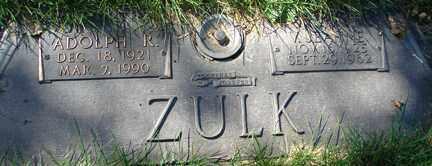 ZULK, VIVA JEANNE - Minnehaha County, South Dakota | VIVA JEANNE ZULK - South Dakota Gravestone Photos