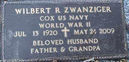 ZWANZIGER, WILBERT ROSS (WWII) - Minnehaha County, South Dakota | WILBERT ROSS (WWII) ZWANZIGER - South Dakota Gravestone Photos
