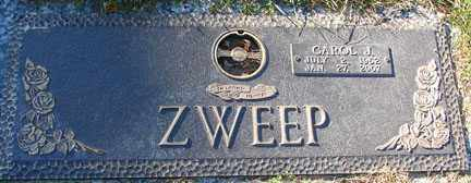 ZWEEP, CAROL JEAN - Minnehaha County, South Dakota | CAROL JEAN ZWEEP - South Dakota Gravestone Photos