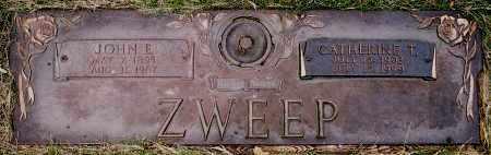 "ZWEEP, CATHERINE ""KATIE"" THERESIA - Minnehaha County, South Dakota | CATHERINE ""KATIE"" THERESIA ZWEEP - South Dakota Gravestone Photos"