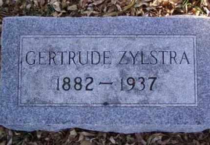 ZYLSTRA, GERTRUDE - Minnehaha County, South Dakota   GERTRUDE ZYLSTRA - South Dakota Gravestone Photos