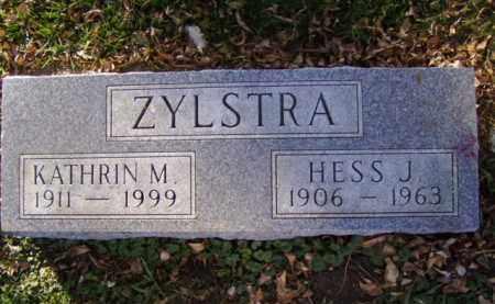 ZYLSTRA, HESS J. - Minnehaha County, South Dakota | HESS J. ZYLSTRA - South Dakota Gravestone Photos