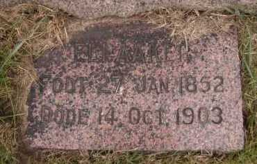 ORVEDAHL AAKER, ELI NILSDATR - Moody County, South Dakota | ELI NILSDATR ORVEDAHL AAKER - South Dakota Gravestone Photos