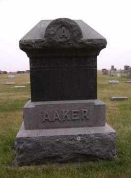 AAKER, FAMILY - Moody County, South Dakota   FAMILY AAKER - South Dakota Gravestone Photos