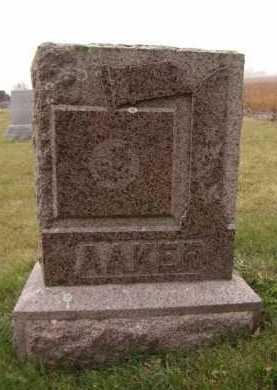 AAKER, FAMILY - Moody County, South Dakota | FAMILY AAKER - South Dakota Gravestone Photos