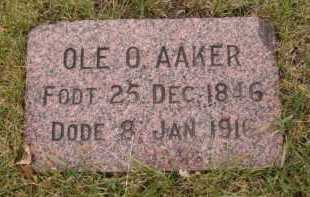 AAKER, OLE O - Moody County, South Dakota | OLE O AAKER - South Dakota Gravestone Photos