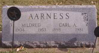 AARNESS, MILDRED - Moody County, South Dakota | MILDRED AARNESS - South Dakota Gravestone Photos