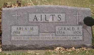 AILTS, GERALD E - Moody County, South Dakota | GERALD E AILTS - South Dakota Gravestone Photos