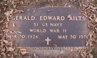 AILTS, GERALD EDWARD (MILITARY) - Moody County, South Dakota | GERALD EDWARD (MILITARY) AILTS - South Dakota Gravestone Photos