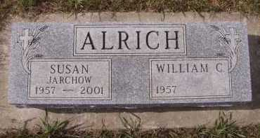 JARCHOW ALRICH, SUSAN - Moody County, South Dakota | SUSAN JARCHOW ALRICH - South Dakota Gravestone Photos