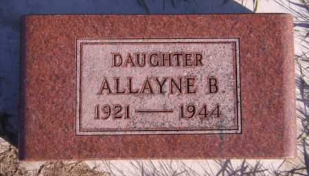AMDAHL, ALLAYNE B - Moody County, South Dakota | ALLAYNE B AMDAHL - South Dakota Gravestone Photos