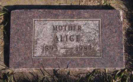 AMDAHL, ALICE - Moody County, South Dakota | ALICE AMDAHL - South Dakota Gravestone Photos