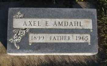 AMDAHL, AXEL E - Moody County, South Dakota | AXEL E AMDAHL - South Dakota Gravestone Photos