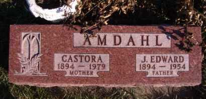 AMDAHL, J. EDWARD - Moody County, South Dakota | J. EDWARD AMDAHL - South Dakota Gravestone Photos