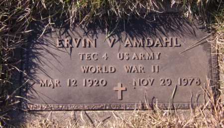 AMDAHL, ERVIN V - Moody County, South Dakota | ERVIN V AMDAHL - South Dakota Gravestone Photos