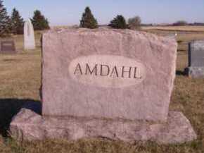 AMDAHL, FAMILY - Moody County, South Dakota   FAMILY AMDAHL - South Dakota Gravestone Photos
