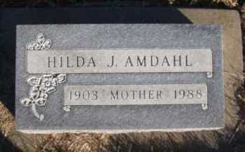 AMDAHL, HILDA J - Moody County, South Dakota | HILDA J AMDAHL - South Dakota Gravestone Photos