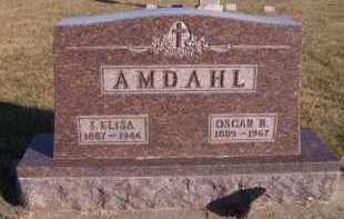 AMDAHL, OSCAR B - Moody County, South Dakota | OSCAR B AMDAHL - South Dakota Gravestone Photos