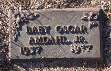 AMDAHL, OSCAR JR - Moody County, South Dakota | OSCAR JR AMDAHL - South Dakota Gravestone Photos