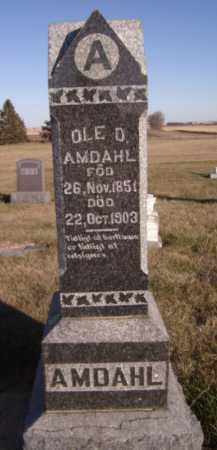 AMDAHL, OLE O - Moody County, South Dakota | OLE O AMDAHL - South Dakota Gravestone Photos