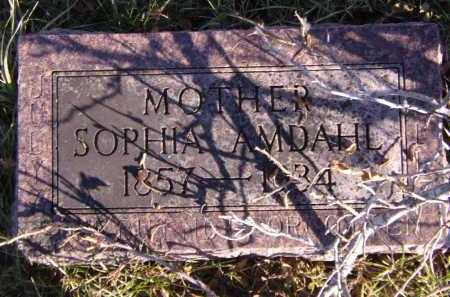 AMDAHL, SOPHIA - Moody County, South Dakota | SOPHIA AMDAHL - South Dakota Gravestone Photos
