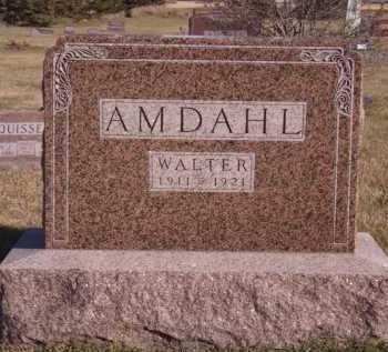 AMDAHL, WALTER - Moody County, South Dakota | WALTER AMDAHL - South Dakota Gravestone Photos
