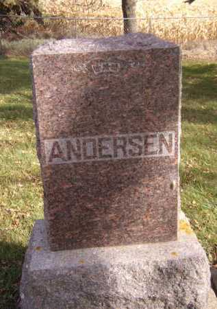 ANDERSEN, FAMILY - Moody County, South Dakota | FAMILY ANDERSEN - South Dakota Gravestone Photos